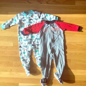 Carter one piece PJs